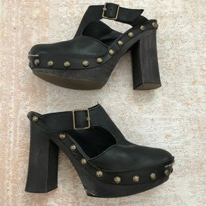 Free People Wonders Clogs